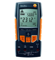 Цифровой мультиметр с функцией измерения истинного СКЗ testo 760-3