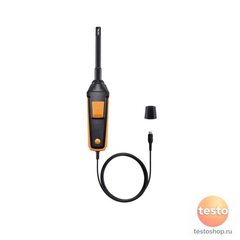 Цифровой зонд влажности/температуры Testo, фикс. кабель