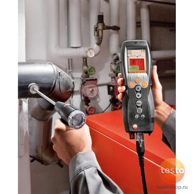 Комплект Testo 330-2 LL BT + Мультиметр Testo 760-2 с магнитным креплением в кейсе