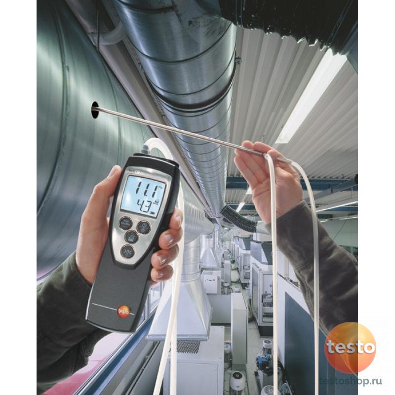 Дифференциальный манометр Testo 512 от 0 до 2 гПа