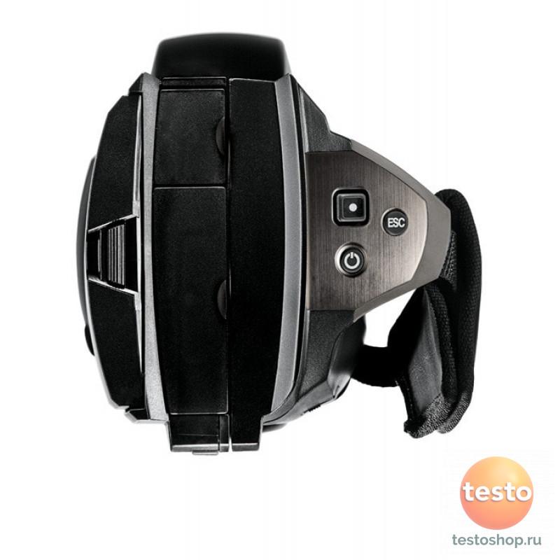 Высокоточный тепловизор с вращающейся рукояткой и откидным поворотным дисплеем Testo 885-1