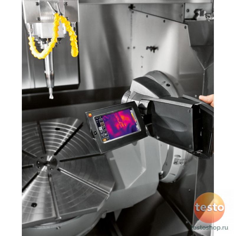 Высокоточный тепловизор с вращающейся рукояткой и откидным поворотным дисплеем Testo 885-2