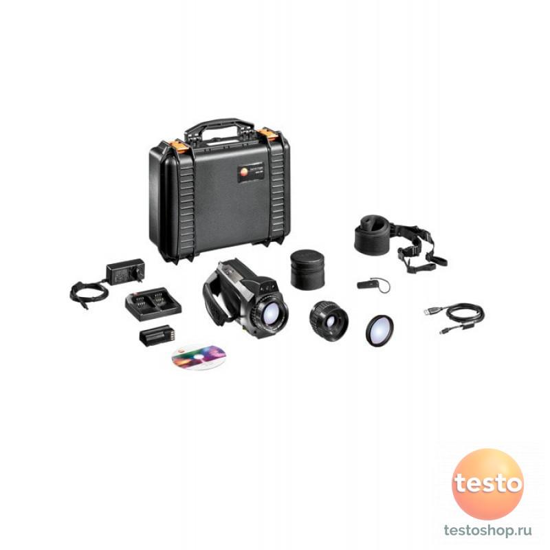 Комплект Testo 885-2 - Тепловизор с супер-телеобъективом и объективом на выбор