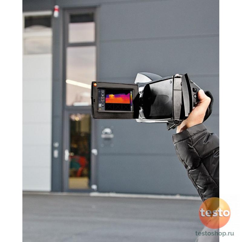 Комплект Testo 890-2 - Тепловизор с супер-телеобъективом и дополнительным объективом на выбор