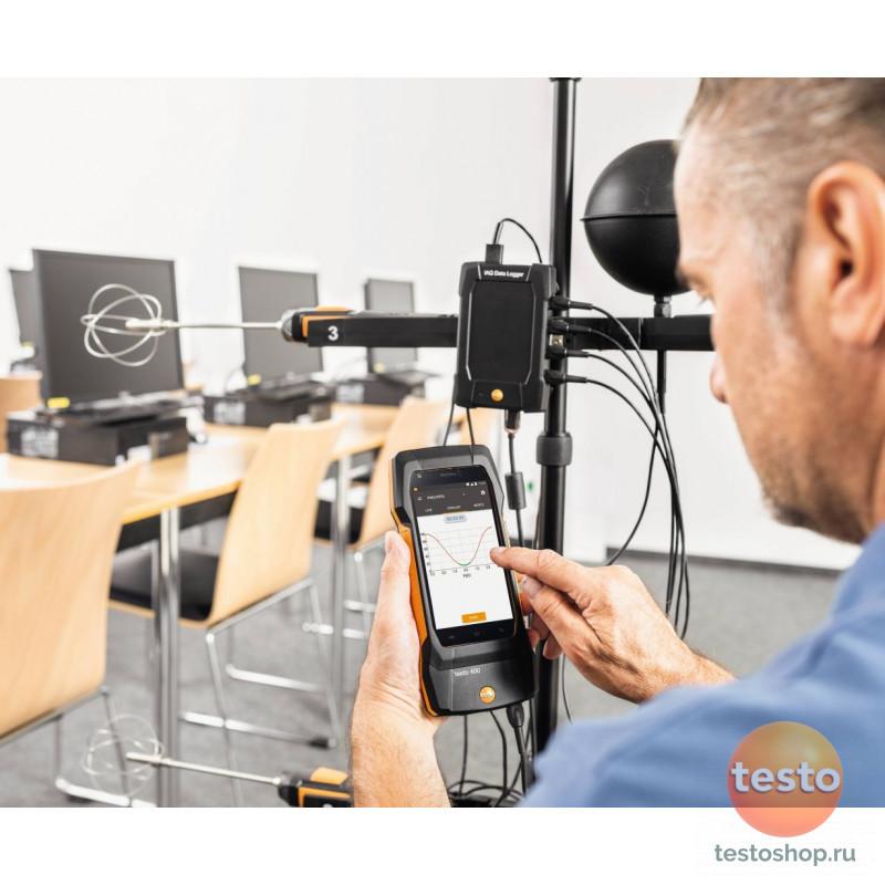 Универсальный измерительный прибор для контроля микроклимата Testo 400