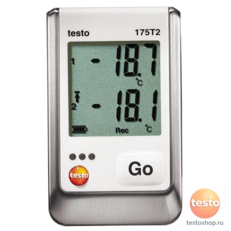 Канальный логгер данных температуры Testo 175 T2 - 2