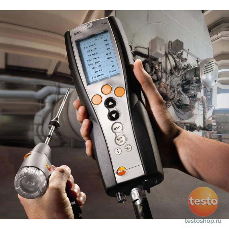 Анализатор дымовых газов для промышленности Testo 340