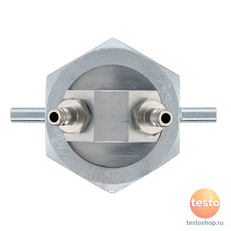 Однотрубный фиттинг для соединения с газовым счетчиком 0554 3156 в фирменном магазине Testo