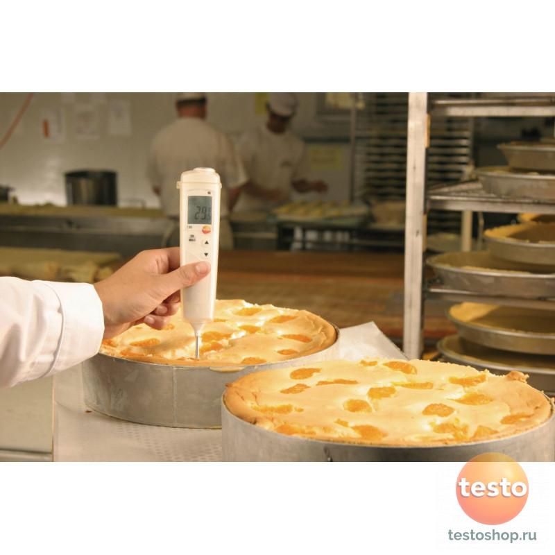 Комплект пищевого термометра с поверкой Testo 106