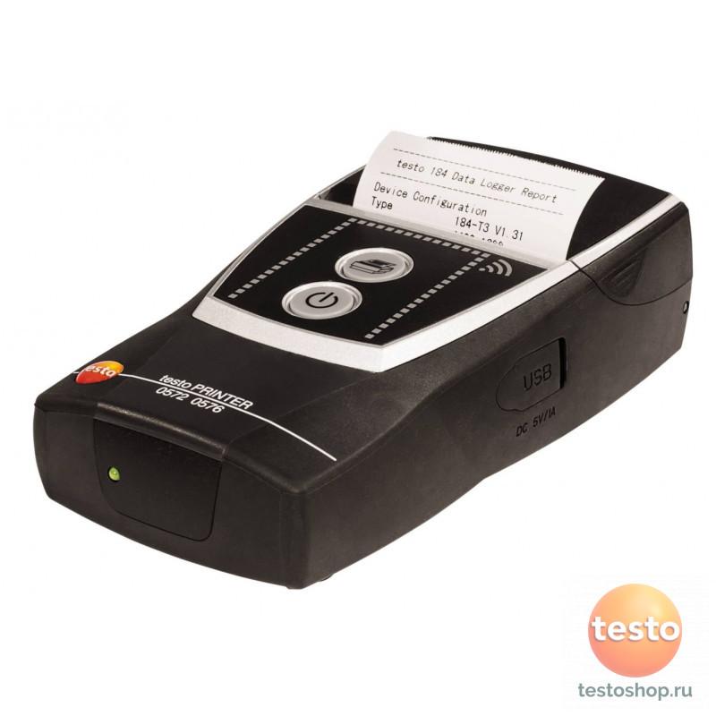 Мобильный принтер для логгеров Testo