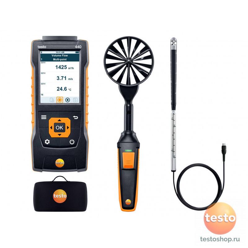 Комплект для вентиляции 2 с Bluetooth Testo 440