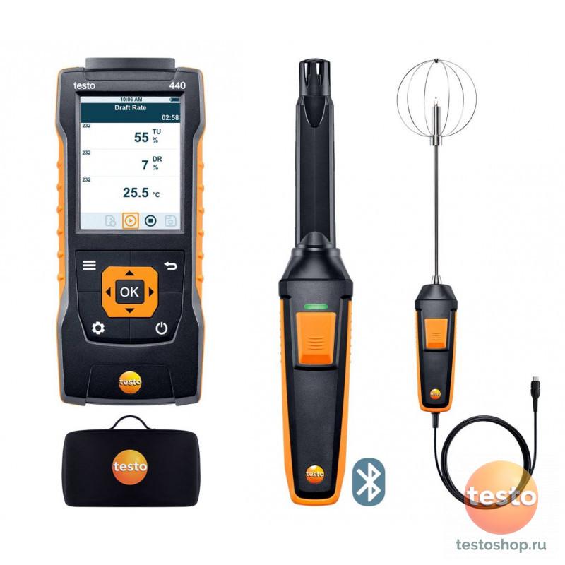 Комплект уровня комфорта с Bluetooth Testo 440