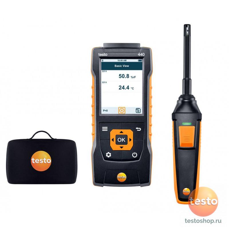 Комплект влажности Testo 440 с Bluetooth