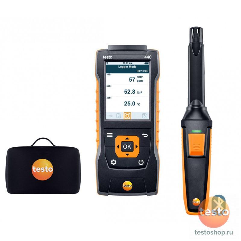Комплект CO2 Testo 440 c Bluetooth