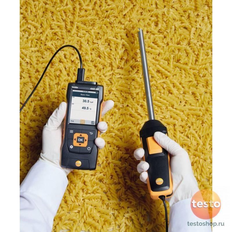 Прочный зонд влажности/температуры Testo для температур до +180 °C