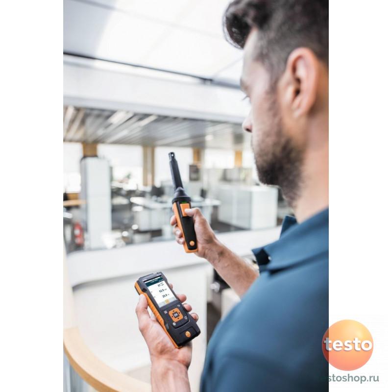 Цифровой зонд CO2 Testo с Bluetooth, включая сенсор температуры и влажности