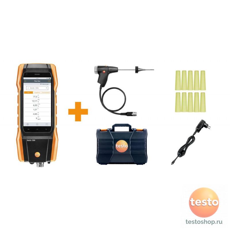 Комплект Testo 300 с H2 -компенсацией