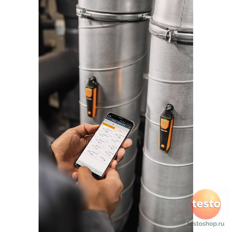 Большой комплект смарт-зондов для холодильных систем Testo