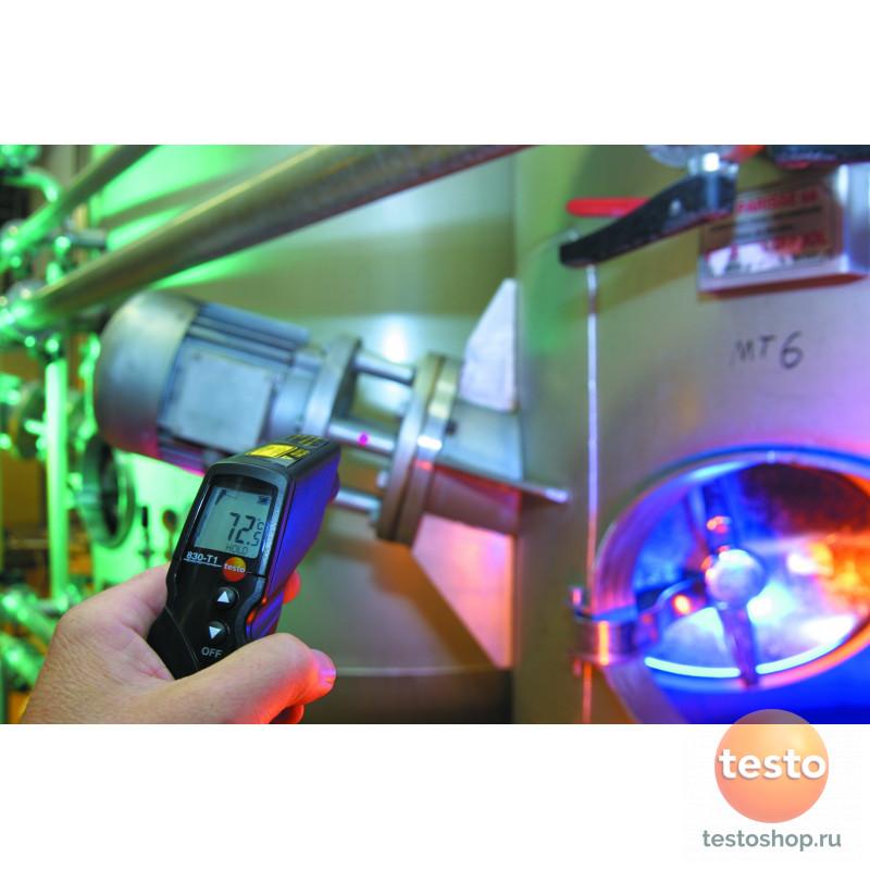 Термометр инфракрасный с лазерным целеуказателем (оптика 10:1) Testo 830-T1