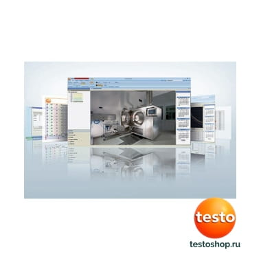 CD ComSoft Basic - ПО для логгеров данных 0572 0580 в фирменном магазине Testo