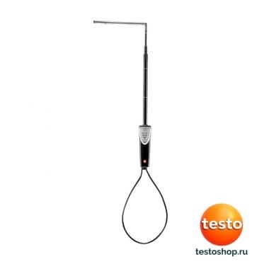 Зонд скорости воздуха с обогреваемой струной 0635 1543 в фирменном магазине Testo