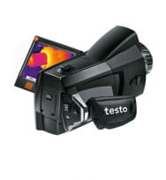 testo 876 - Тепловизор с NETD < 80 мК и большим поворотным дисплеем