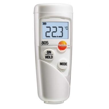 Карманный инфракрасный мини-термометр Testo 805 с защитным чехлом TopSafe