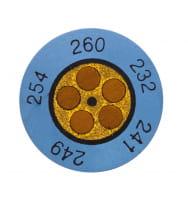 Круглые термоиндикаторы Testo Testoterm измерительный диапазон +88 … +110 °C
