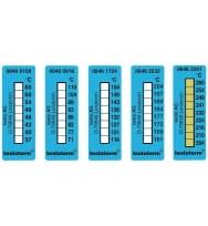 Термометрические полоски - измерительный диапазон +249 … +280 °C