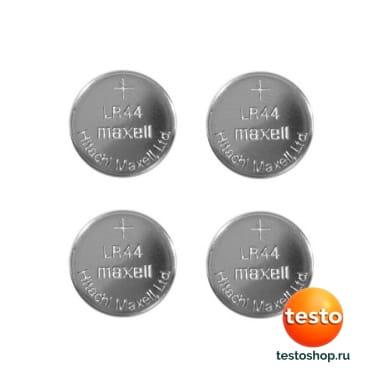 Тип LR 44, 1.5 В (4 шт) 0515 0032 в фирменном магазине Testo