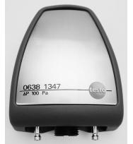 Зонд давления Testo 10 гПа, в прочном металлическом корпусе