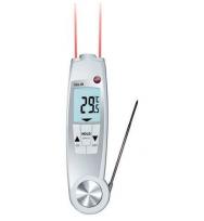 Складной водонепроницаемый пищевой термометр/ИК-термометр с поверкой Testo 104-IR